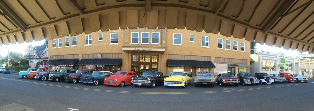 Hotel Cathlamet, Cathlamet Washington - car club