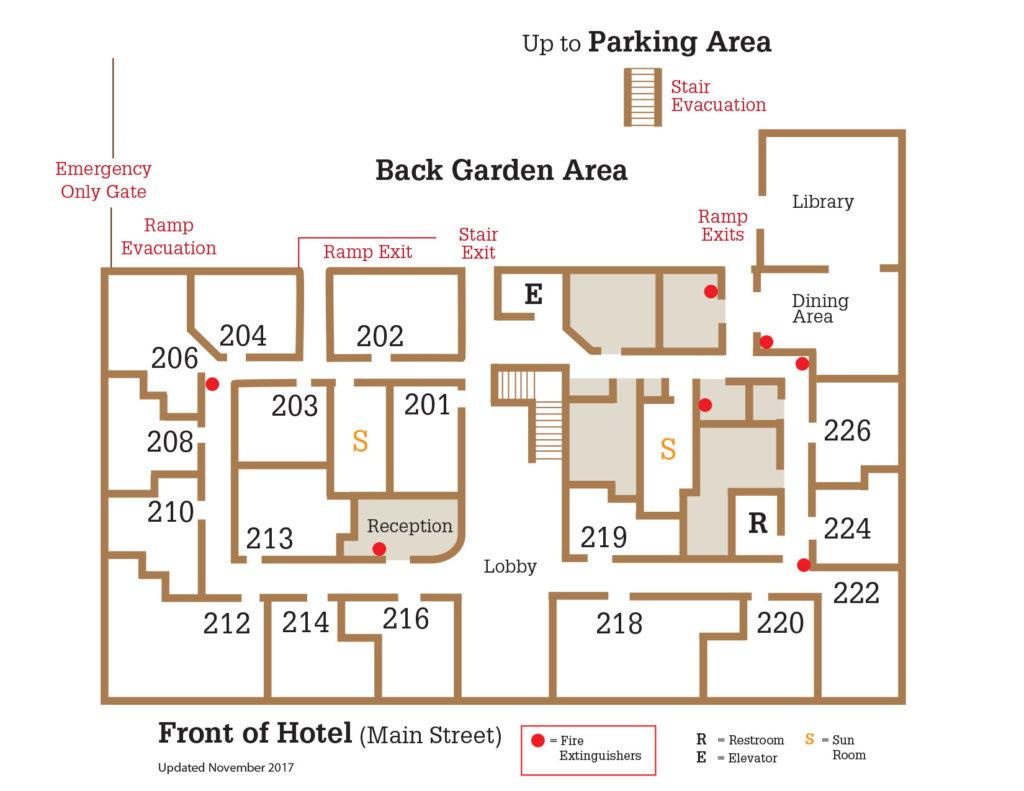 Floor Plan | Hotel Cathlamet