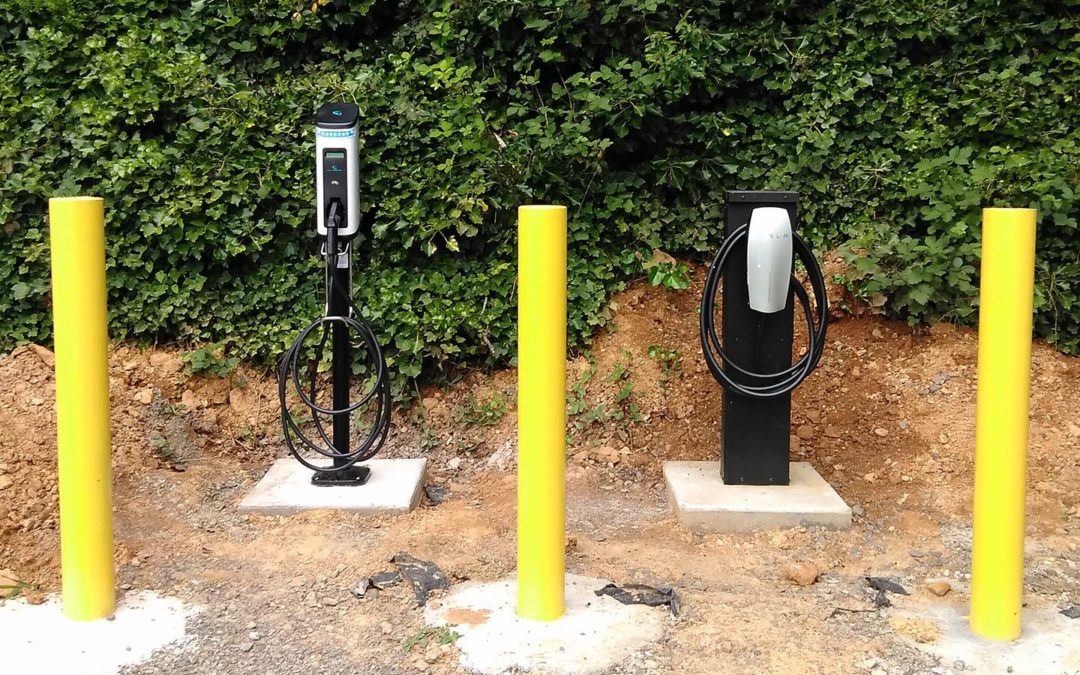 New Electric Car Charging Stations!