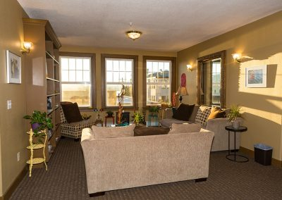 Lounge near main reception desk
