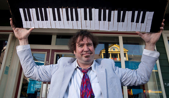Aug. 29th – An Evening with Legendary New Orleans Jazz Man Davis Rogan, Cathlamet Hotel  Lobby